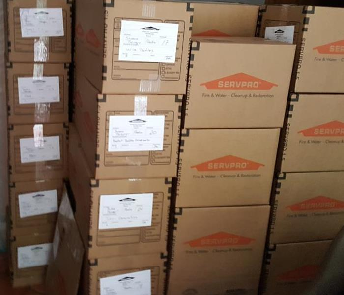 Contents Cleaning, Inventory & Pack-out by SERVPRO